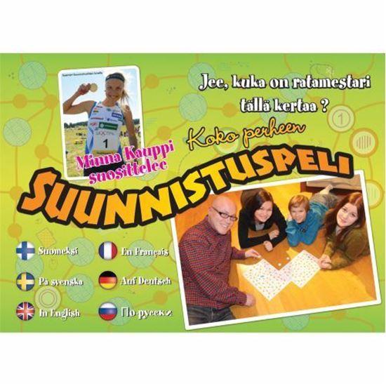 Picture of Finnish Orienteering Game Suunnistuspeli