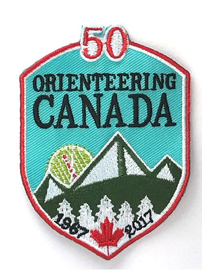 Image de Orienteering Canada 50th Anniversary Badge