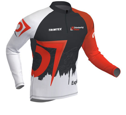 Picture of Orienteering Ottawa Longsleeve Race Shirt - Dark