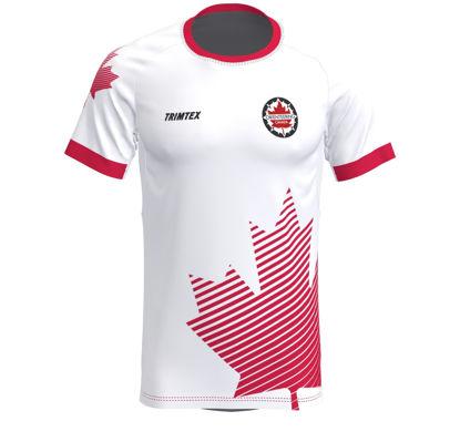 Image de Chemise de supporteur de Team Canada - design 2021