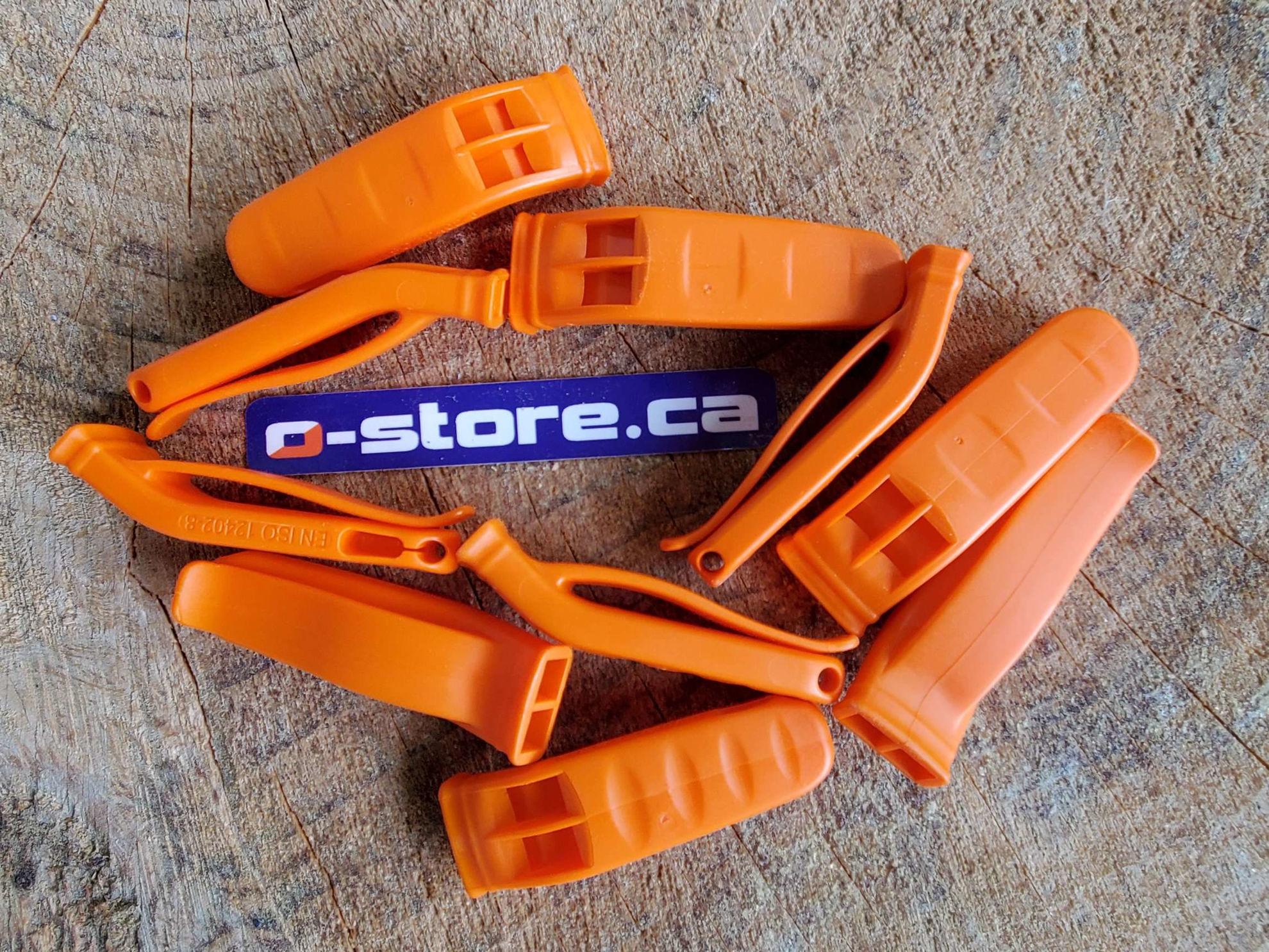 Image de Nexus Orange Whistle - Set of 10